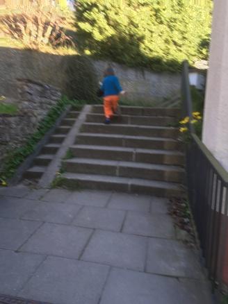 Kindertreppe?
