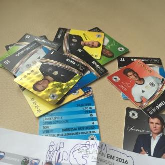 Fußballkarten