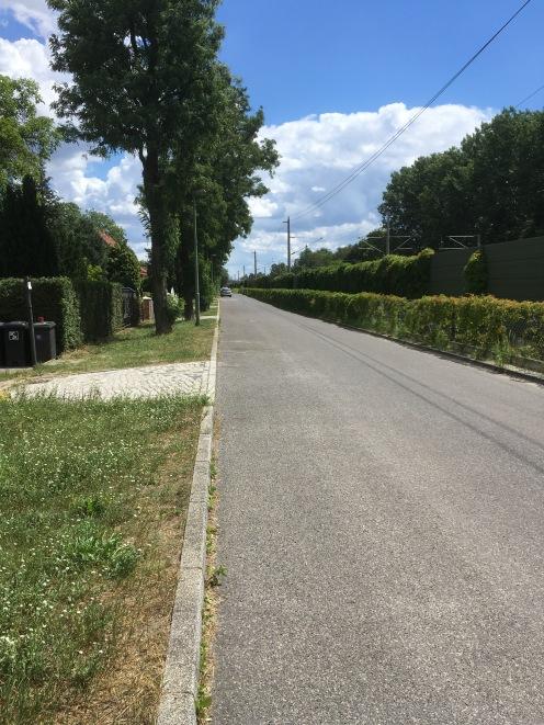 Straße ohne Kind