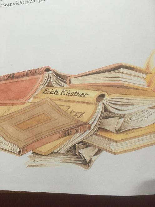 Bücherverbrennung ... (aus Reuter, Judith und Lisa)