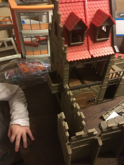 Aufbau II: Burg