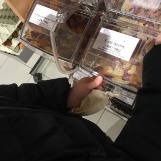 Süßigkeiten (lose).