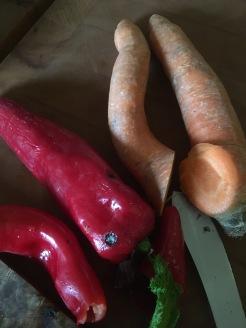 Gemüsepfanne - Zutaten 2