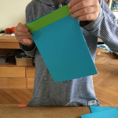 Blaue Karte.