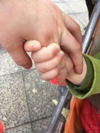 Händchenhalten