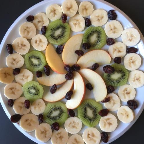 Obst-Mandala.