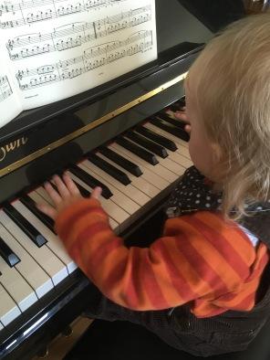 ... und Klavier