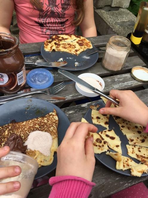 Pfannkuchengelage