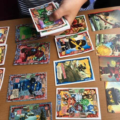 Doppelte Ninja-Karten.
