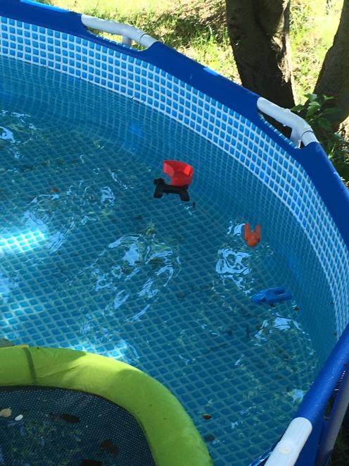 Schwimmen und Sinken II