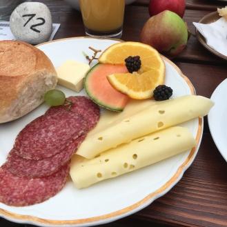 Kleines Frühstück.