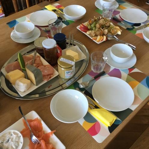 Frühstückstisch (Erwachsene)