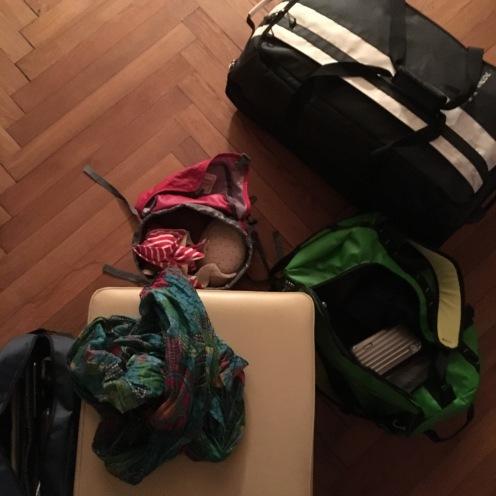 Gepäck.