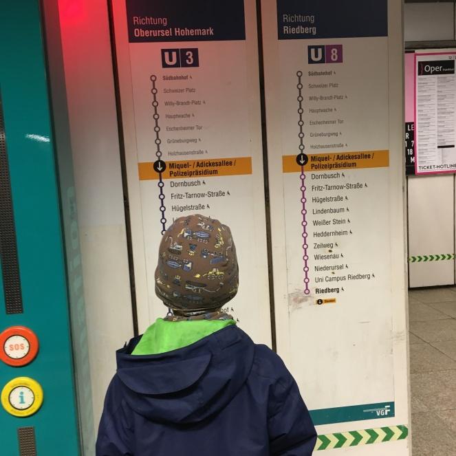 U-Bahnen.
