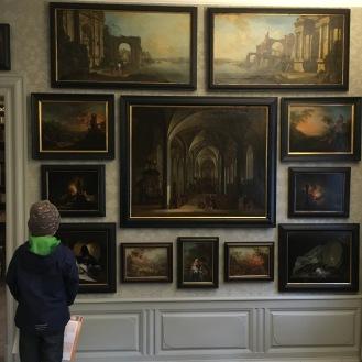 64 Gemälde (Auswahl).