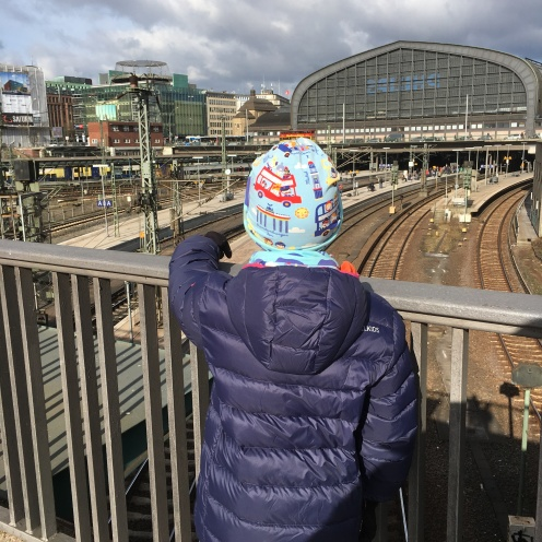 Hauptbahnhof.