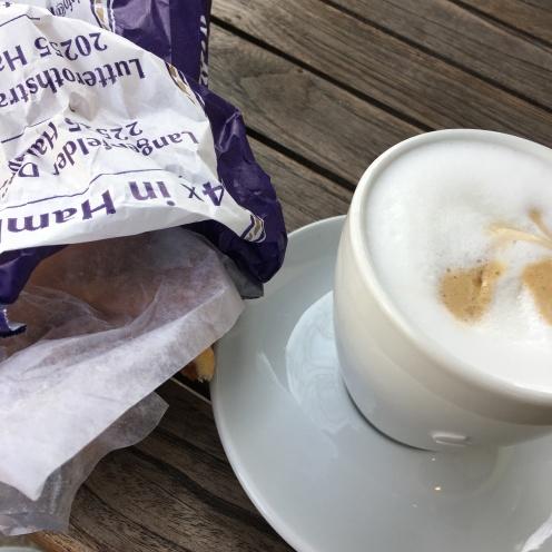 Croissant & Cappuccino.