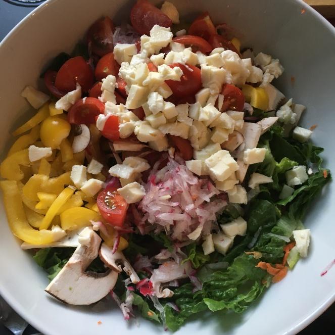Salat (fast fertig).