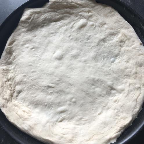 Pizzaboden.
