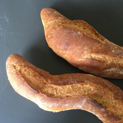 Schlangenbaguettes II