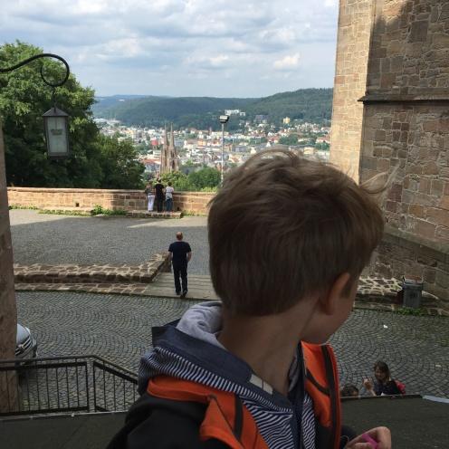 Blick vom Schlossberg I