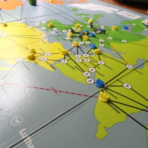 Lufthansa-Spiel (ca. 1975).