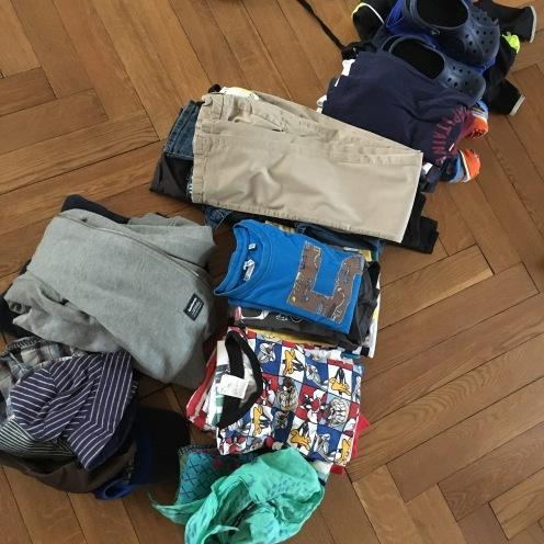 Packstapel.
