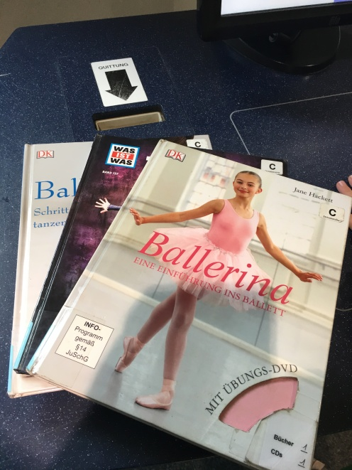 Ballettbücher.