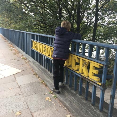 Kennedybrücke.