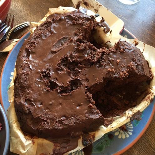 7. Kuchen, ohne Deko.