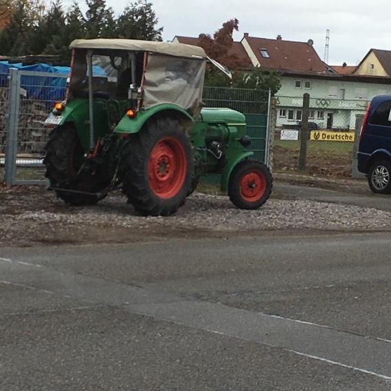 Traktor, alt