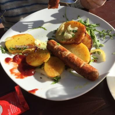 Berliner Bratwurst.
