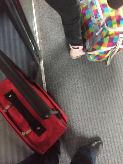 Koffer, doch da.