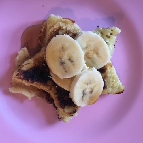 ... und Banane.
