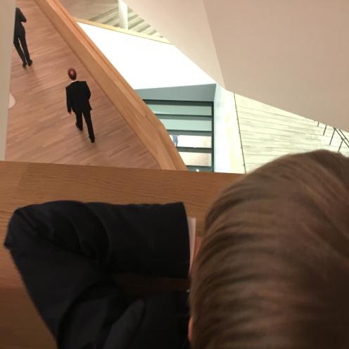 Treppen ohne Stufen.