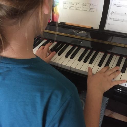 Klavier.